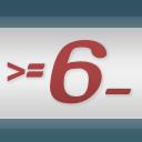 Mindestenssechszeichen
